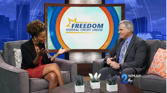 Freedom Federal Credit Union CEO Appears On WMAR-TV To